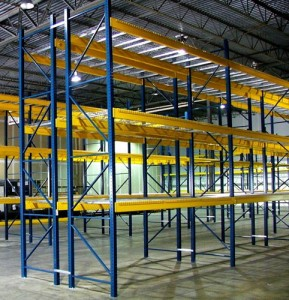 Used Pallet Rack Uprights Chesterfield, MO