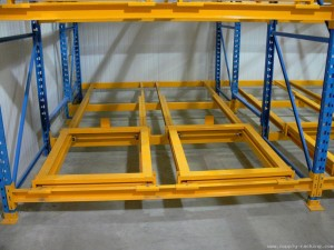 St. Louis Push Back Pallet Rack